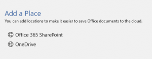 Should you use OneDrive online or offline?  SP library ?