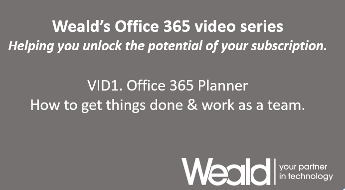 Office 365 Planner Video
